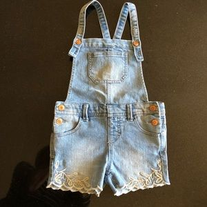 Girls 'Cat & Jack' Overall shorts - XS